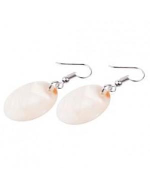 Jewellery - Earrings - Real Shell - Oval