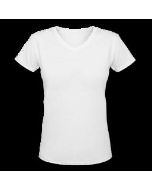 Women's Subli-T Premium Polycotton Sublimation V-Neck T-Shirt