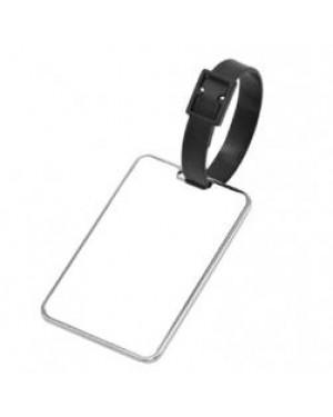 Luggage Tag - Metal - Rectangle - 5cm x 8cm
