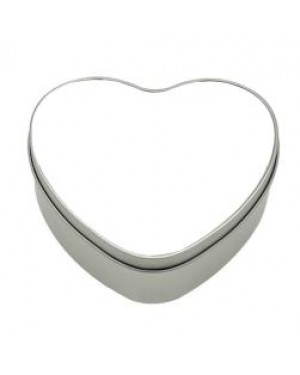 Tins - Metal - Heart - With Printable Insert