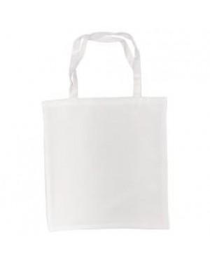 Tote Bag - Milan - Canvas White - 38cm x 40cm - Short Handles
