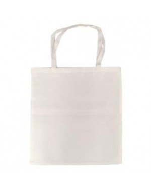 Tote Bag - Monaco - Satin Cream - 38cm x 40cm - Short Handles
