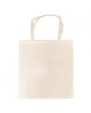 Tote Bag - Paris - Canvas Cream - 38cm x 40cm - Short Handles