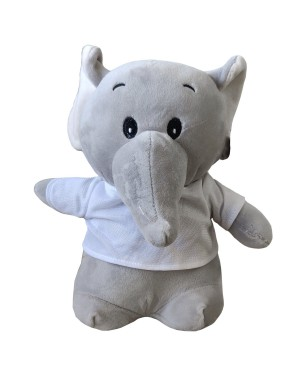 Soft Toys - Super Soft Elephant with Printable T-Shirt