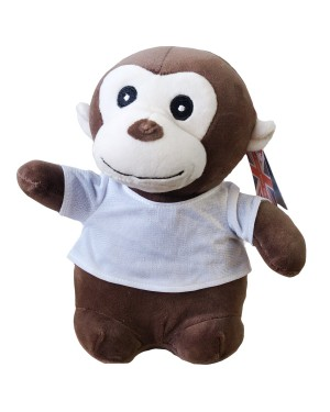 Soft Toys - Super Soft Monkey with Printable T-Shirt
