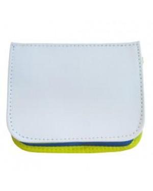 Travel Wallet with Shoulder Strap - Blue