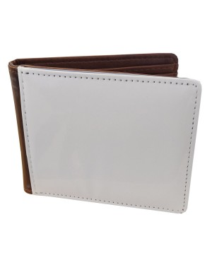 Wallet - Deluxe PU Wallet - Brown