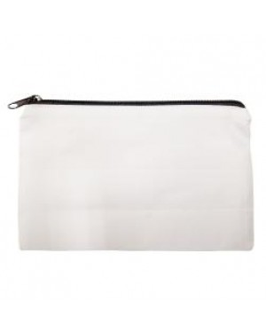 Make Up/ Cosmetic/ Washbag 100% Polyester - Black Zip