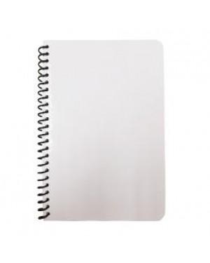 Notebook - A5 Wiro Notebook - Glossy Cardboard