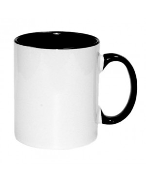 Black sublimation 11oz Mug