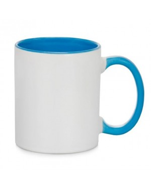 Light Blue 11oz Sublimation Mugs - 36 Blanks
