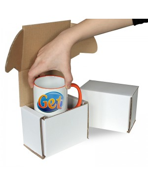 100 Smash Proof Boxes for Sublimation 10 - 11oz Mugs