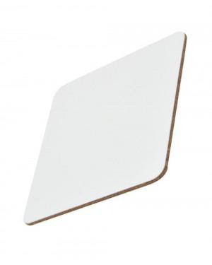 Coaster - Rubber - Square - Gloss Finish