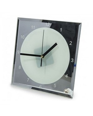 Square Sublimation Desktop Clock - 1 Blank