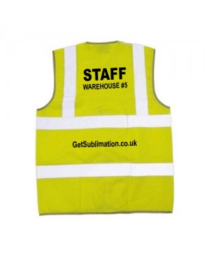 Sublimation Hi Vis Vest