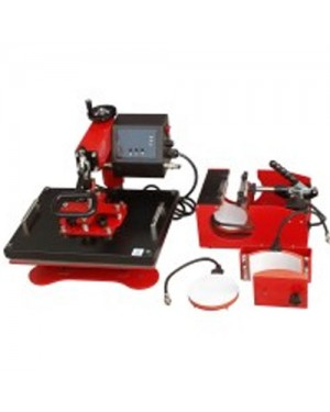 Swing heat press machine