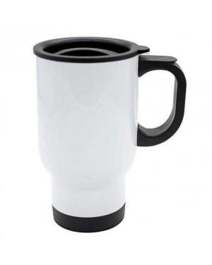 Blank white travel mug for Sublimation