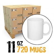 11oz White Photo 720 Mugs Sublimation