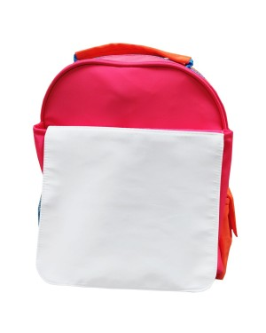 Bags - Neon Backpacks with Flap - Orange and Pink Hi Vis