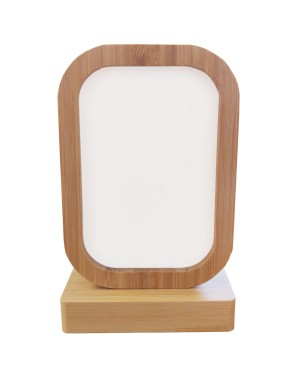 Photo Frame - Bamboo/ MDF - Revolving Magnetic Frame - Rectangle