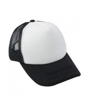 Baseball Cap with CoolAir Back - Black
