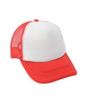 Baseball Cap with CoolAir Back - Red