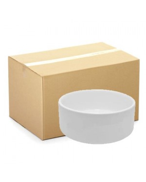 CARTON - 12 x Bowls - Ceramic - Dog Bowl