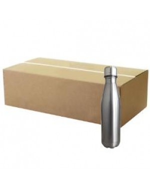 FULL CARTON - Bowling Double Walled Stainless Steel Sublimation Water Bottle - 500ml - Silver