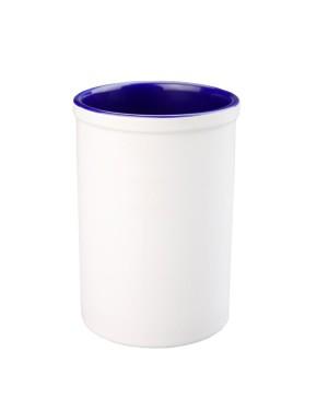 Pen Pots - Ceramic - 15oz Pencil Holder - Dark Blue
