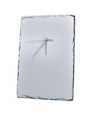 Photo Slate - Large Clock - 25cm x 40cm