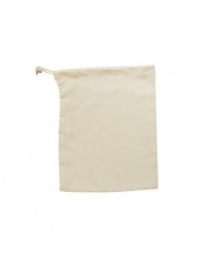 Drawstring Bag - Natural Cotton Style - 15cm x 20cm