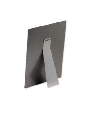 Pack of 10 x Small Self-Adhesive Silver Easel for Sublimation Metal Sheets - 38mm x 89mm