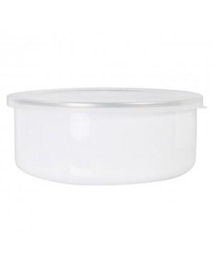 Bowls - Enamel - 30oz (900ml) Bowl With Lid