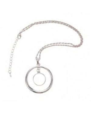 "Jewellery - Necklace - ""Orbit"" Pendant with Printable Insert"