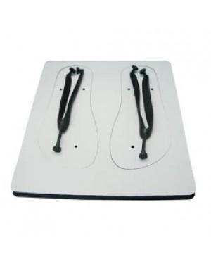 Flip Flops - Adult Size - Black Straps - Large
