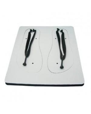 Flip Flops - Child Size - Black Straps - Large
