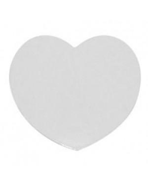 Fridge Magnet - Rubber - Heart - 5cm