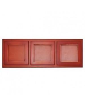 "Wooden Frame for 4 Inch Ceramic Tiles - Triple-Pine Photo Frame 4.25""X4.25"""