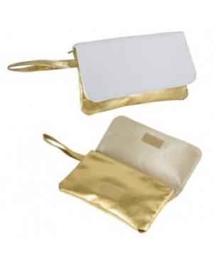 Bag - Handbag with Strap - Gold