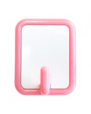 Self-Adhesive Kids Coat/ Bag Hook with Printable Insert - Pink