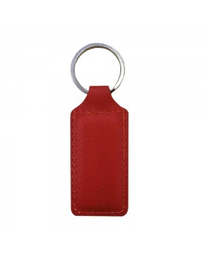 Engravables - LEATHER - Ornament - RECTANGLE - Red