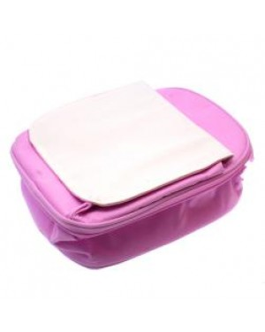 Lunch Bag for Kids with Detachable Flap - Pink