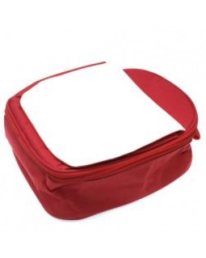 Lunch Bag for Kids with Detachable Flap - Red