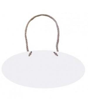 Hanging Sign - MDF - Oval - 25.5cm x 15cm