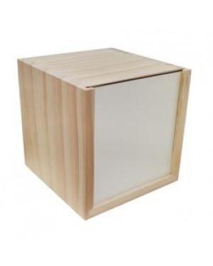 MDF - Storage Box - 10cm x 10cm x 10cm