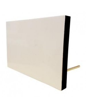 "Photo Frame/ Panel - MDF Photo Panel with Metal Stand - 4"" x 6"""