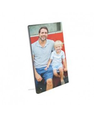 """Photo Frame/ Panel - MDF Photo Panel with Metal Stand - 5"""" x 7"""""""