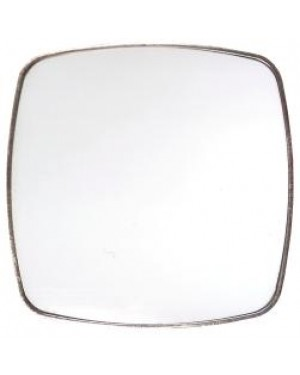 Fridge Magnet - Metal - Curved Square - 6cm