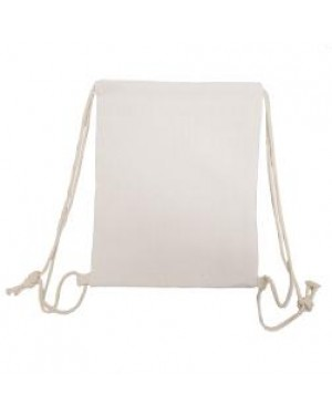 Drawstring Bag - Plain Coloured Strings - Linen Style - 30cm x 40cm