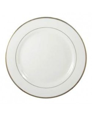 Blank 6 X 10'' Ceramic Plate With Gold Rim for Sublimation